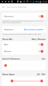 tinder-settings